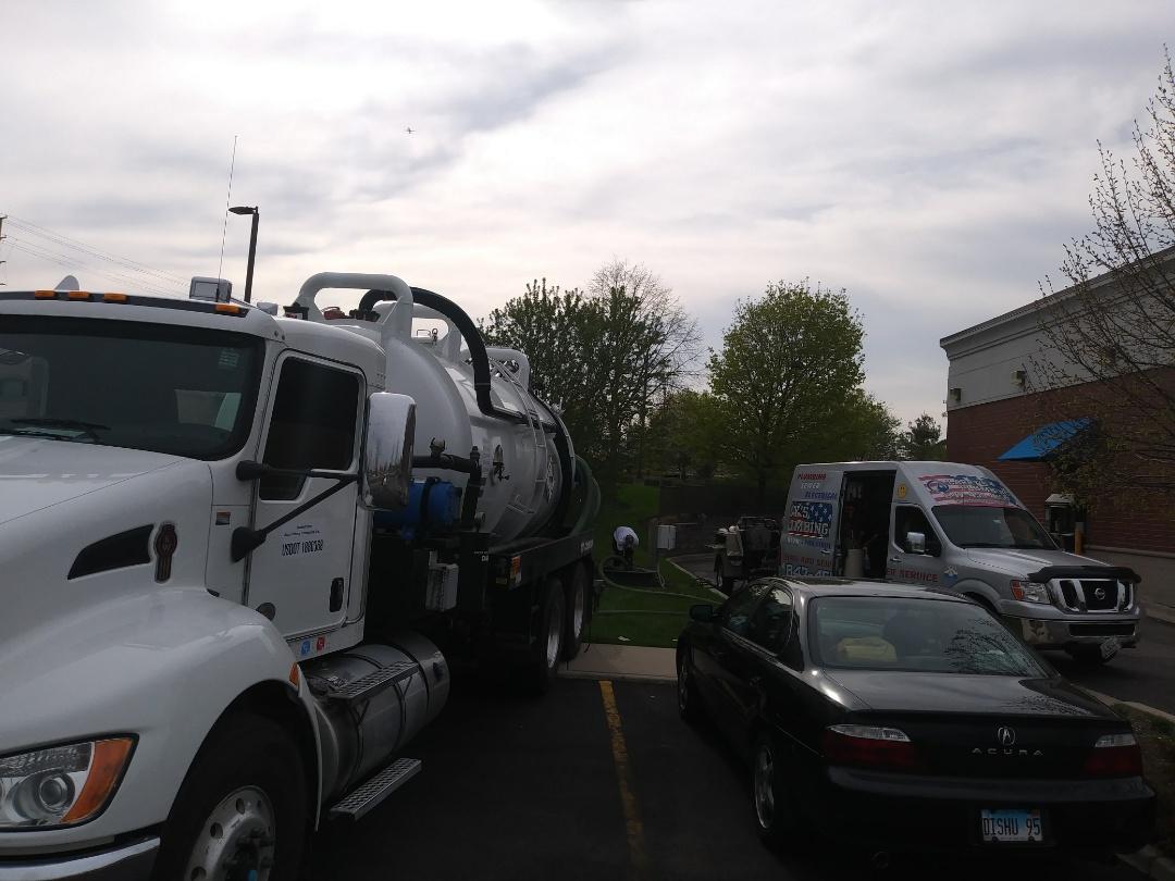 Romeoville, IL - Pump 2 loads from overflow tank