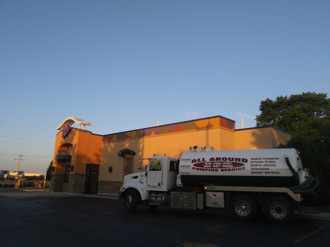 Rockton, IL - Pump and clean outside grease trap