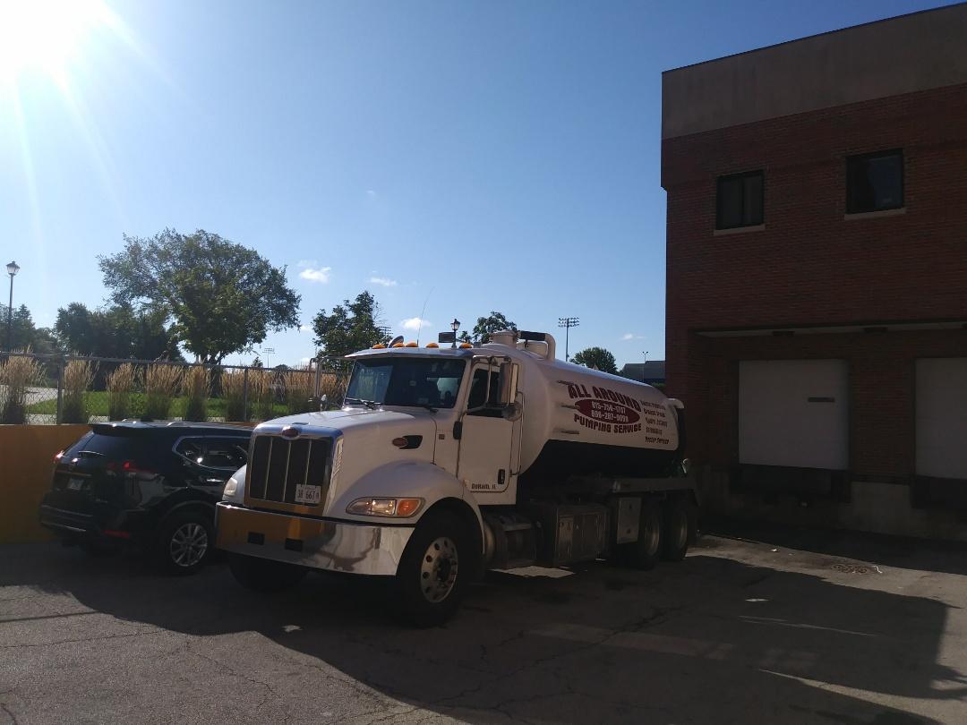 Wheaton, IL - Pump and clean outside grease trap