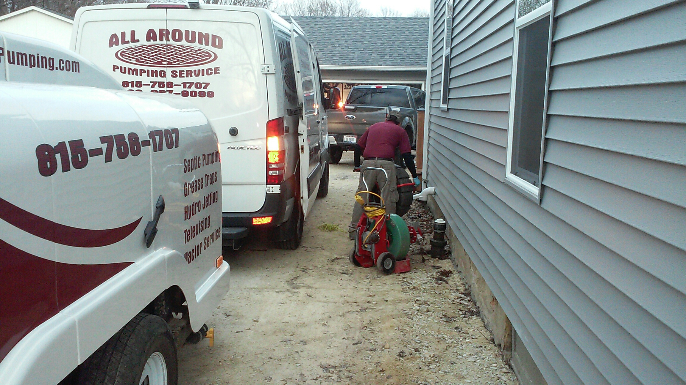 Sandwich, IL - Jetting and sewer cleaning