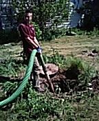 Cortland, IL - Pumping septic tank