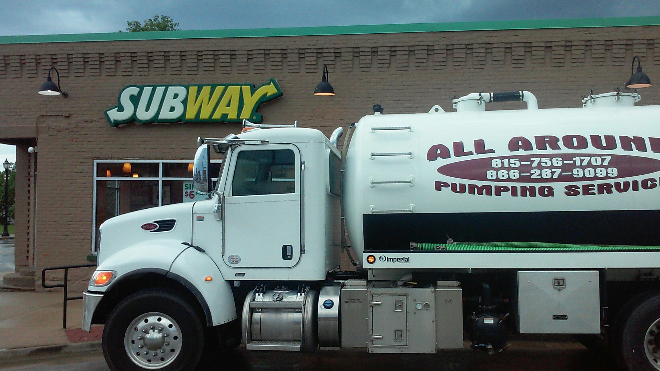 Hinckley, IL - Pump amd clean grease trap