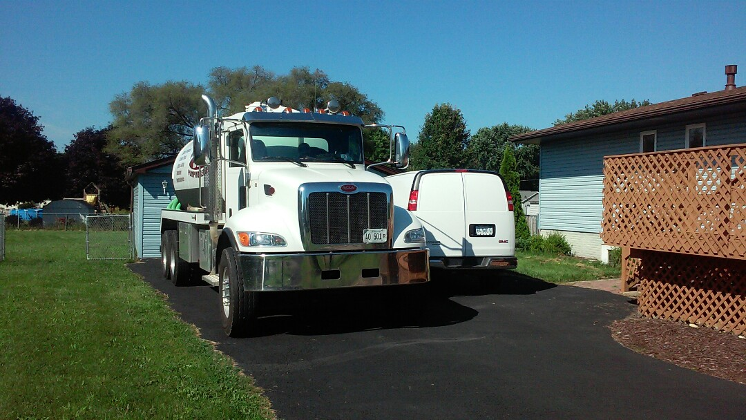 Sandwich, IL - Septic system inspection