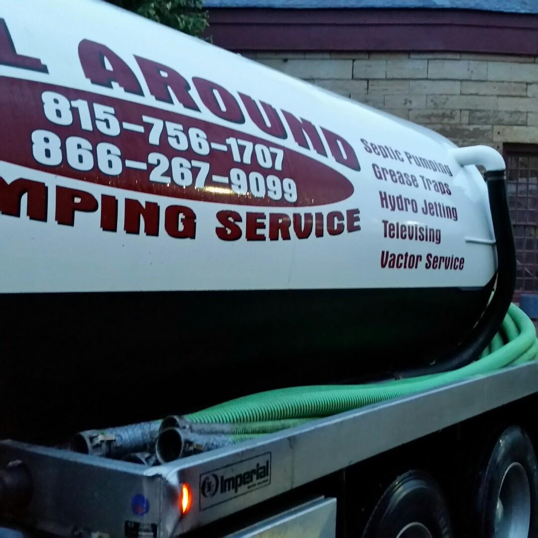 Aurora, IL - Pumping grease traps
