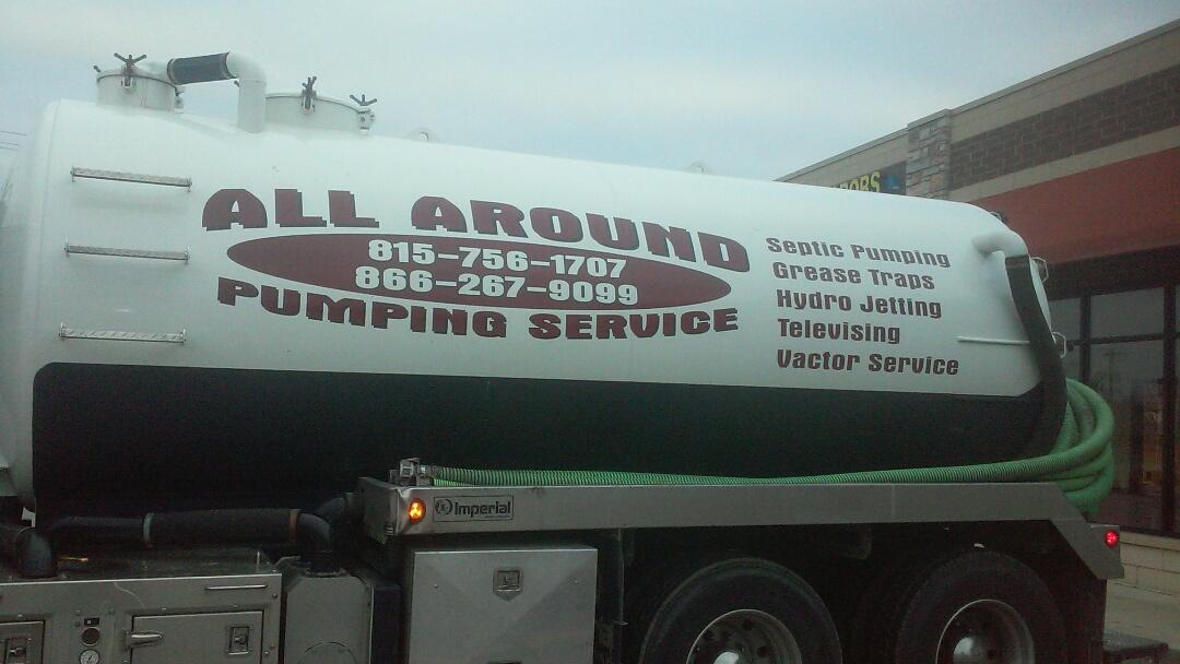 Sycamore, IL - Pumping grease trap