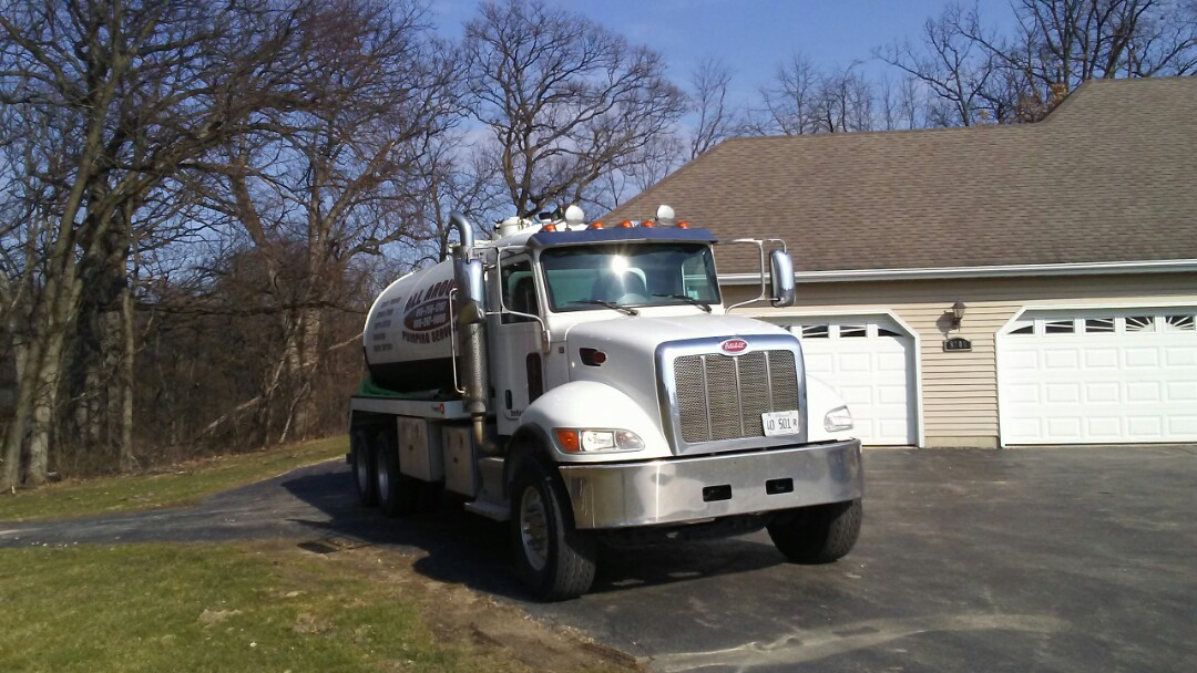 Genoa, IL - Pump and clean trash tank, ATP, chlorinator