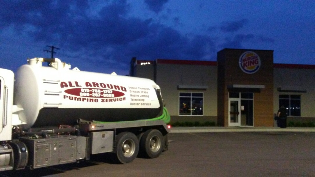 Sycamore, IL - Pump and cleaned outside grease trap