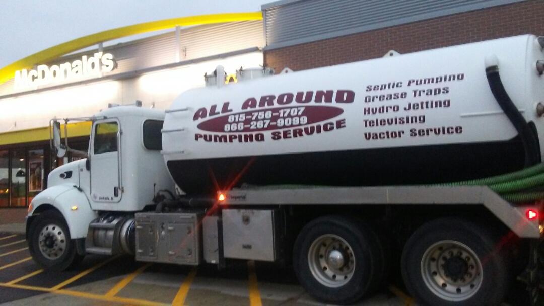 Winnebago, IL - Pump and clean outside grease trap