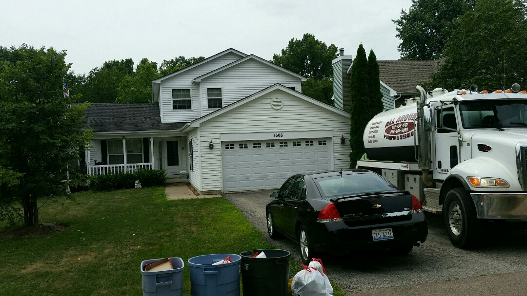 Sandwich, IL - Pump and clean septic and inspect