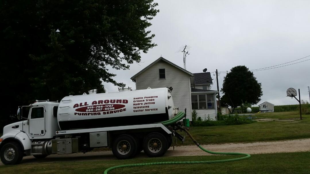 Pump and clean septic tanks