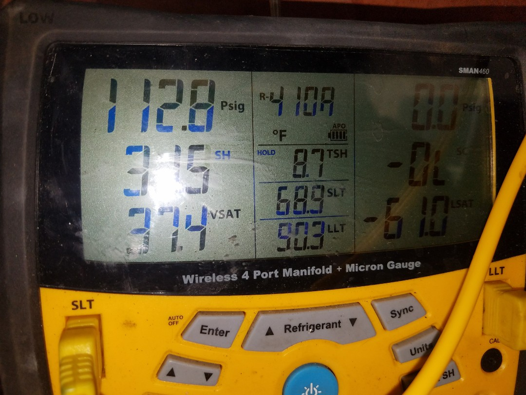West Hollywood, CA - Performed a pmc on a 2 fan cail and heat condenser.