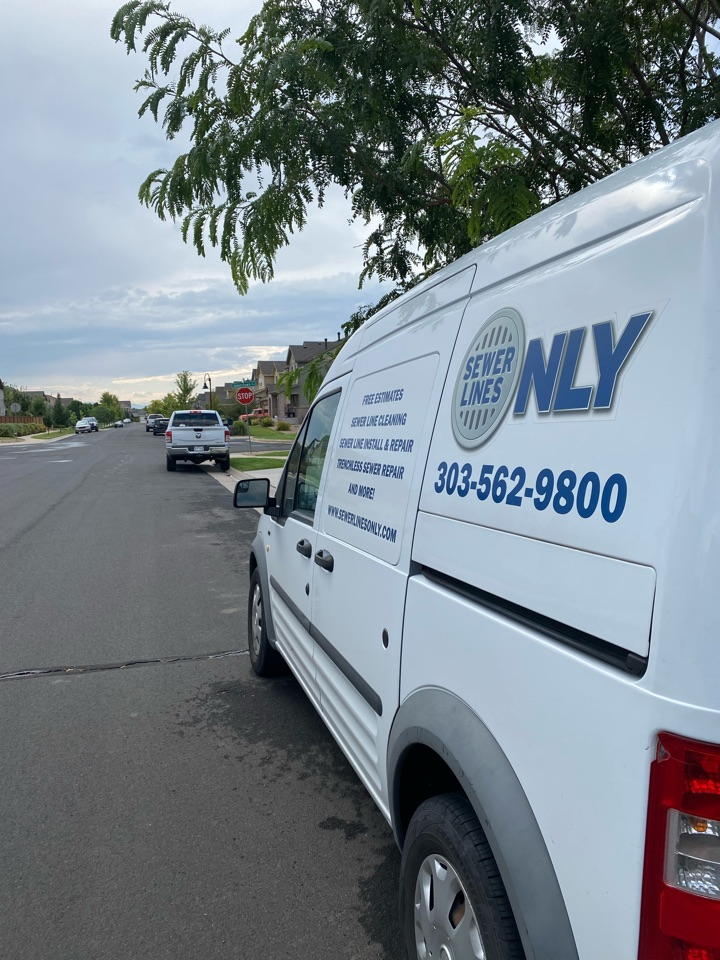 Aurora, CO - Sewer Lines Only is on site today to perform a main line sewer cleaning for the property! Sewer Lines Only has years of experience unclogging and replacing secondary and main sewer lines all over Denver!