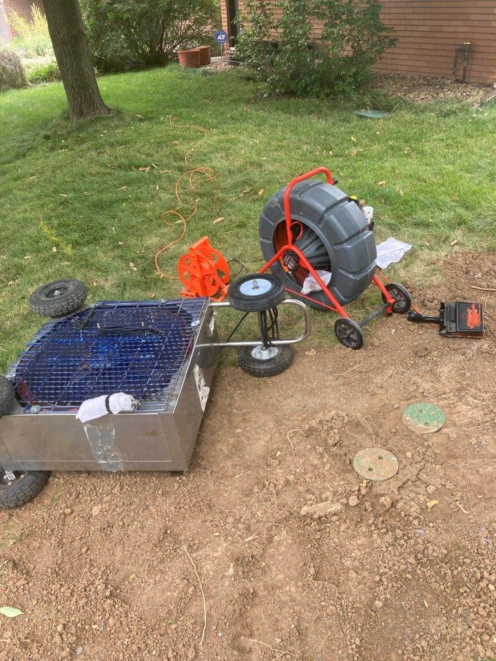 Denver, CO - Sewer line cleaning