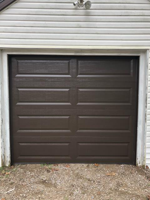 Supply and install new Clopay Garage Door in Brown