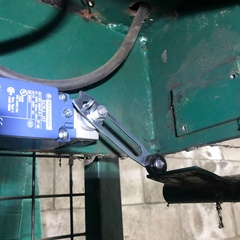 Service Call: Commercial Overhead Door   Issue: Install Limit Switch   Work Performed: -Installed new safety switch -Found and replaced blown fuse -Test hoist table for safe operation