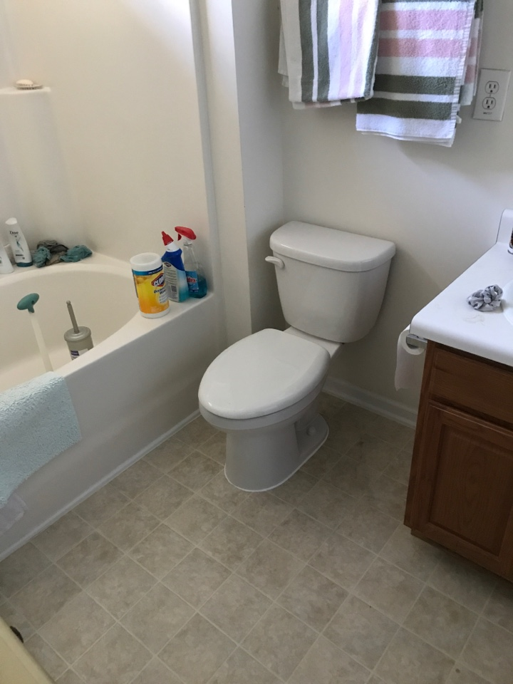 Burlington, NC - Replace two toilets and a PR