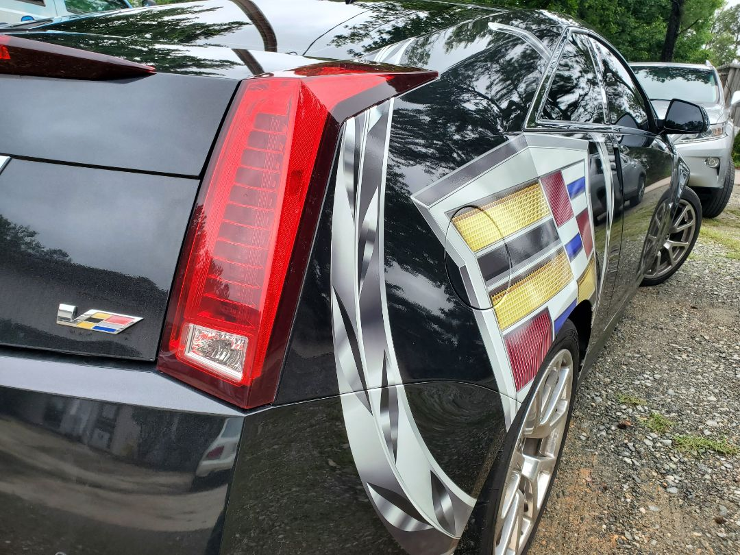 Raleigh, NC - Cadillac CTS-v styling