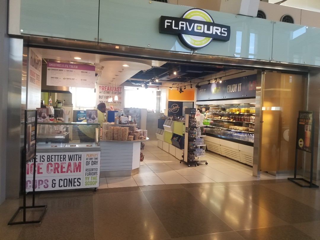 Raleigh, NC - flavors of RDU is a great place flavors of RDU is a great place to showcase some graphics that we did for their retail space. These direct printed PVC panel release showcase both serve menu board. And the acrylic panels show off the branding around the rest of the location