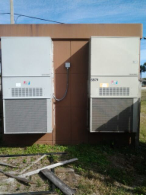 St. Augustine, FL - bard wall hung air conditioners.