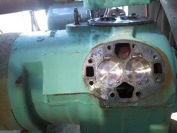 Jacksonville, FL - repairing compressor valve plates on 50 ton carrier package unit