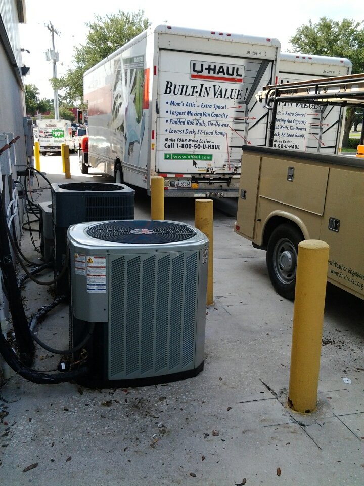 Orange Park, FL - New Trane start up for UHAUL.