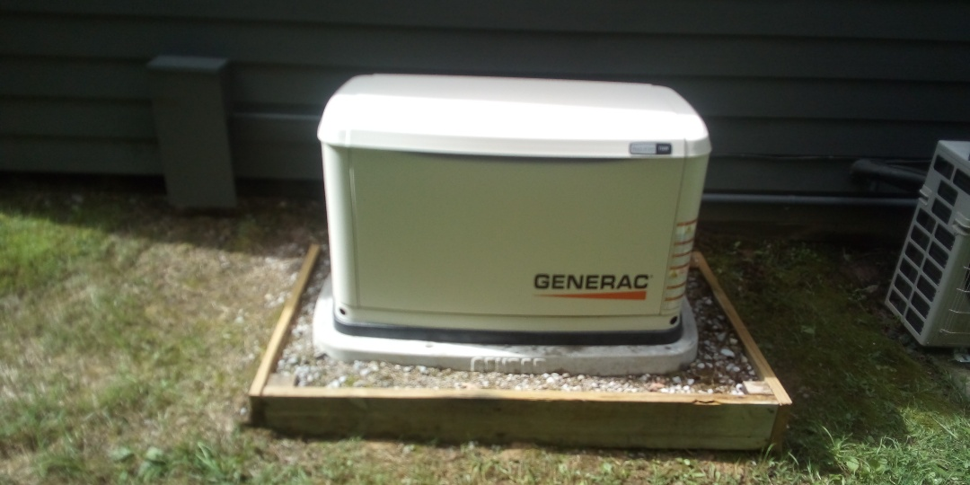 Allardt, TN - Performed annual maintenance on Generac Guardian Series 11kw standby home generator for Jeff Woods Construction
