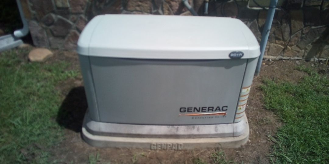 Spring City, TN - Performed annual maintenance on Generac Centurion Series 20kw standby home generator for Jeff Woods Construction