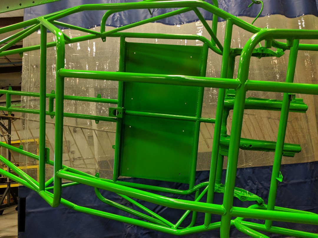 Raleigh, NC - Race car, go cart, or even bikes.  Frames look better powder coated lime!