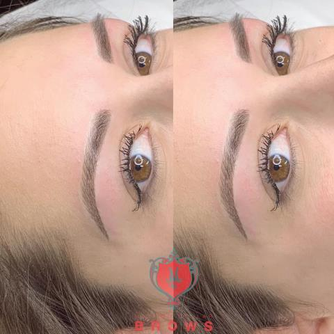 Beautiful microblading with shading for my client. Permanent makeup is life changing when done right. #eyebrows #semipermanentmakeup