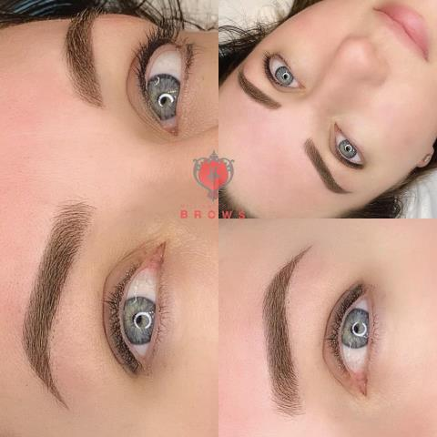 Dover, NH - Microblading with shading. #eyebrows #permanentmakeup
