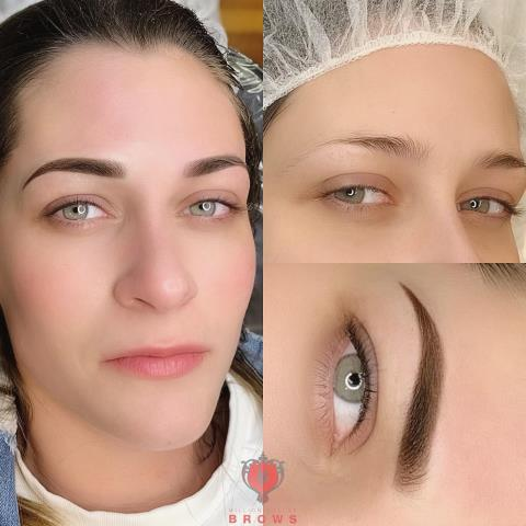 Boston, MA - Beautiful Ombre Brows for this lovely lady!