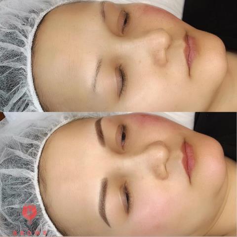 Barrington, NH - Microblading with shading. semi permanent makeup. #eyebrows #brows #semipermanentmakeup