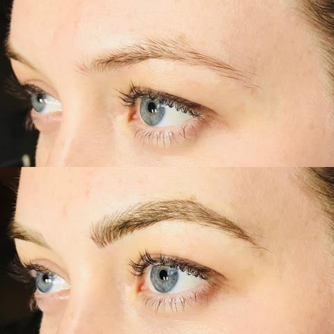 Deerfield, NH - Eyebrow laminating, waxing, and tinting are three of the most popular and effective brow enhancement techniques out there today.  To Know Your Options Here: https://milliondollarbrows.com/eyebrows/