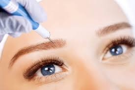 What to expect for Permanent Eyebrows: Expect treated area to appear big and dark for several days and will fade.
