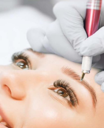 Microshading is a softer and gentler technique of enhancing the appearance of your eyebrows.