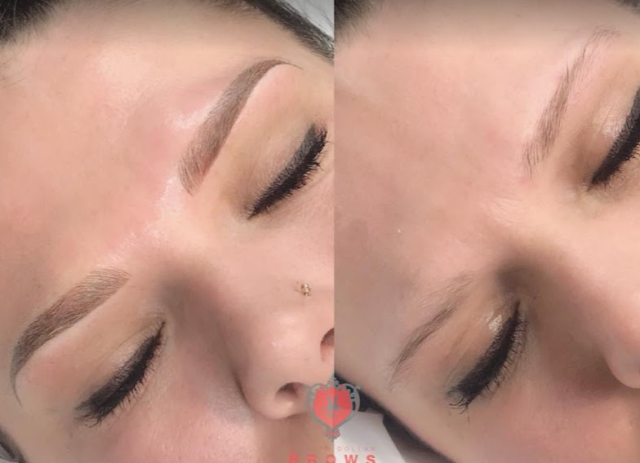 Greenland, NH - Ombre Brows is best suited for clients with oily skin, thick skin, overly sensitive skin with thin or very minimal hair as it creates density.