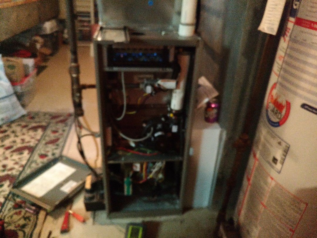 Newmarket, ON - Furnace cleaning
