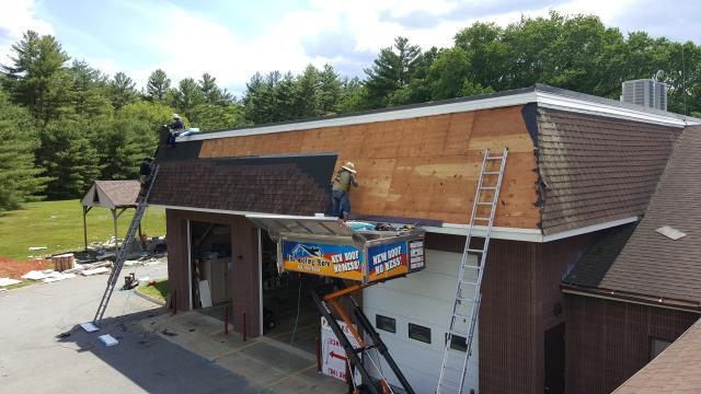 Moosup, CT - Central Village Fire Dept. Re roofing Project