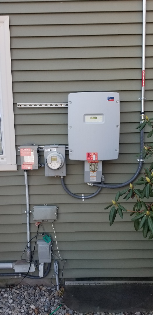 New Britain, CT - solor installation inspection . all tests out 100%  love it when customer put their trust in to do what we say  we wil them when we say it  awesome jobs guys be proud