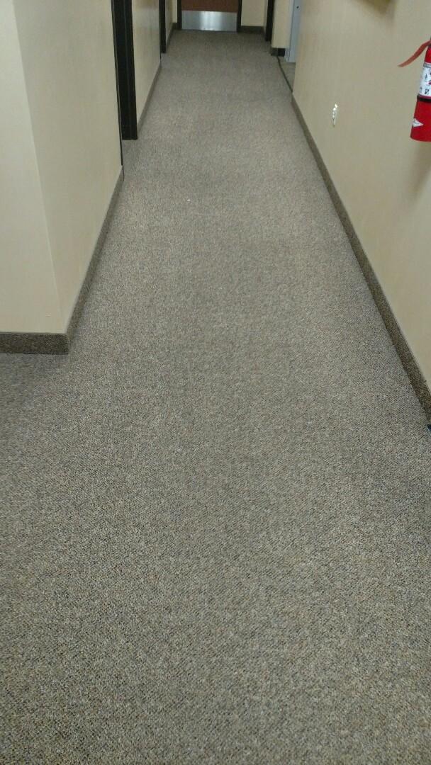 Cleaned commercial carpet for a regular PANDA customer in Scottsdale, AZ 85257.