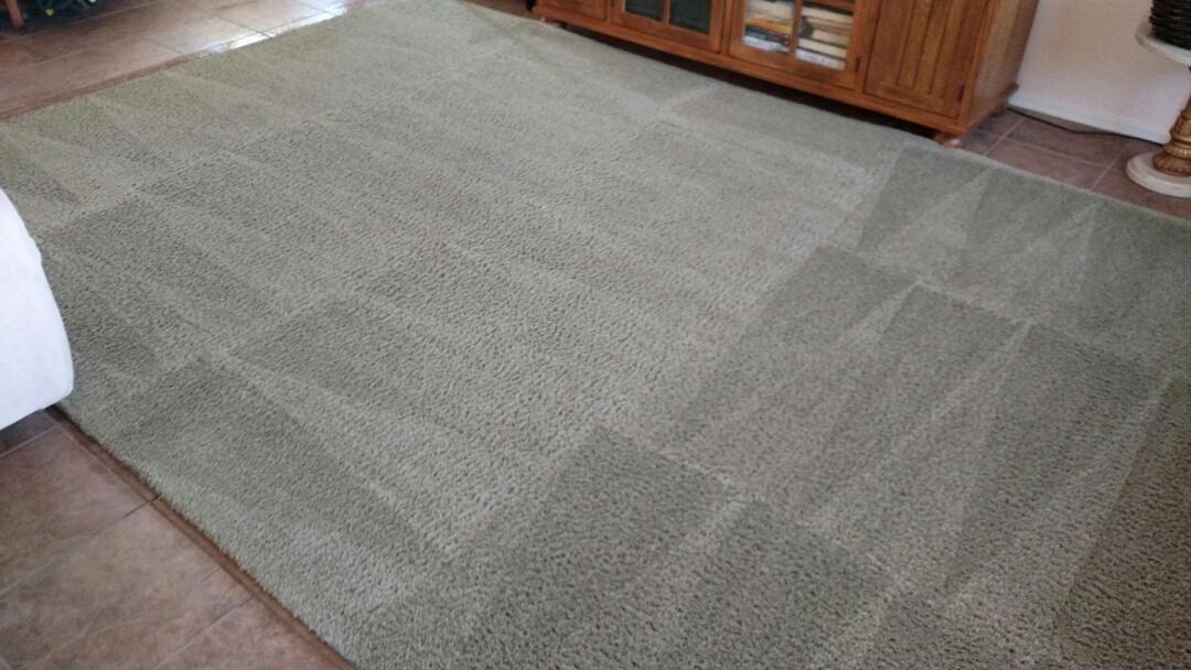Gilbert, AZ - Cleaned carpet for a new PANDA customer in Gilbert, AZ 85298.