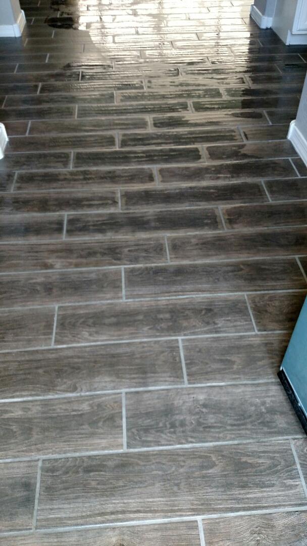 Gilbert, AZ - Clean tile & grout for a regular PANDA family and The Willows, Gilbert, AZ 85295.
