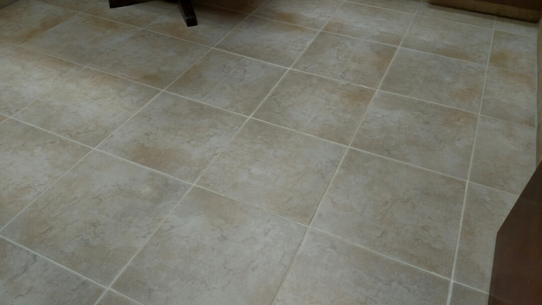 Cleaned & color-sealed tile & grout for a regular PANDA customer in Mesa, AZ 85206.