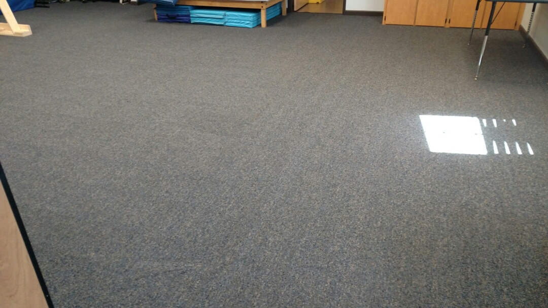 Gilbert, AZ - Cleaned commercial carpet and extracted stains for a regular PANDA customer in Gilbert, AZ 85296.