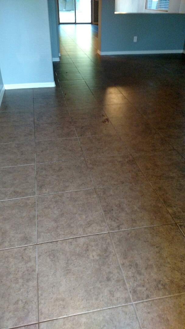 San Tan Valley, AZ - Clean tile and grout for a regular PANDA customer in San Tan Valley, AZ, 85140