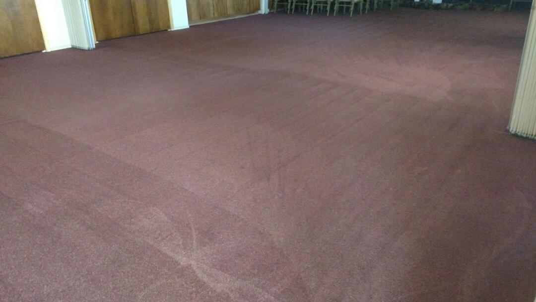 Chandler, AZ - Cleaned commercial carpet for a regular PANDA customer in Chandler, AZ 85225.