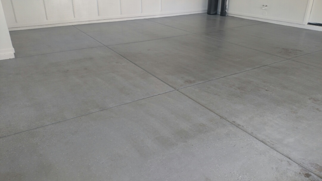 Cleaned garage flooring for a regular PANDA family in Sossaman Estates, Queen Creek, AZ, 85142.