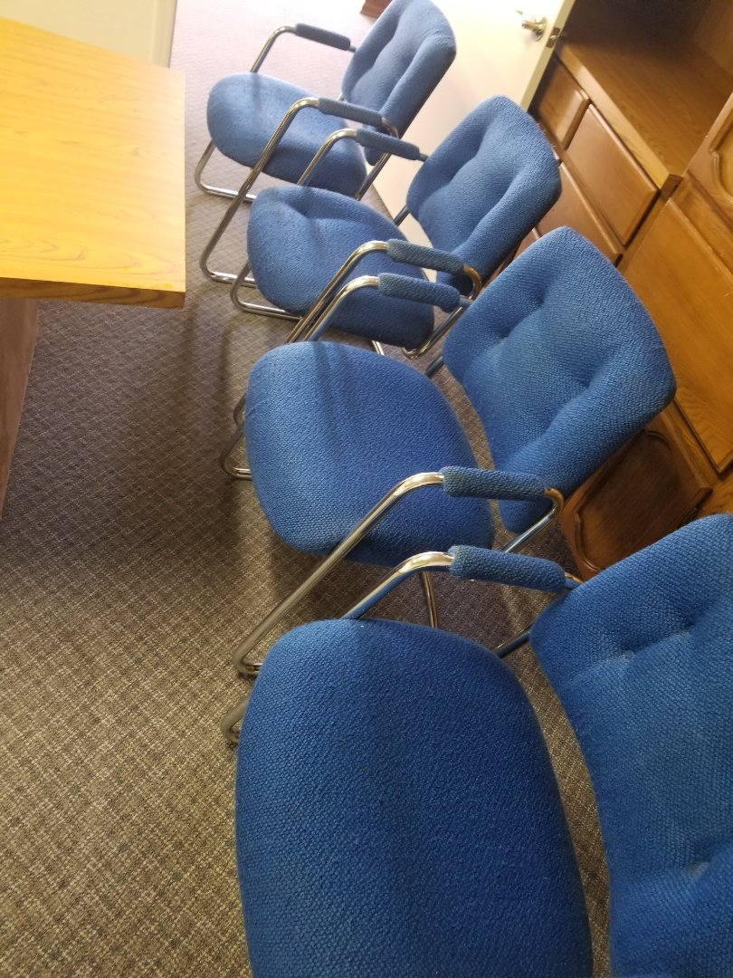 Cleaned commercial carpet & office chairs for a new PANDA customer in Tempe, AZ 85282