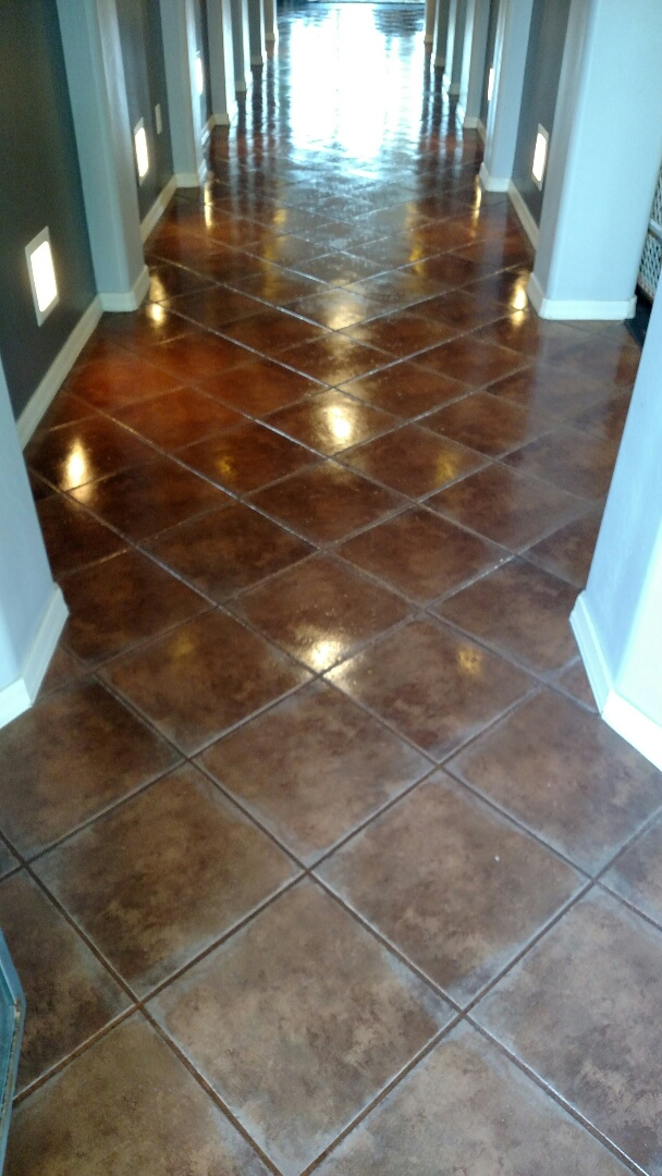 Clean area rugs, upholstery, tile & grout and sealed the grout for a new PANDA family in Chandler, AZ 85286.