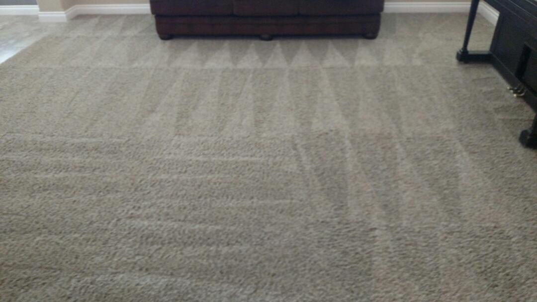 Gilbert, AZ - Cleaned carpet for a new PANDA family in Gilbert, AZ 85297.